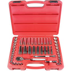 47-piece 3/8-inch Drive 6-point Socket Set