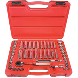 47-piece 3/8-inch Drive 12-point Socket Set