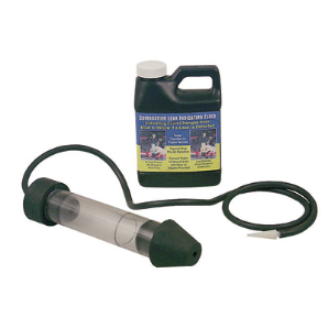 Combustion Leak Detector, to Detect Cracked Blocks, Leaks, Fluid Changes from Blue to Yellow