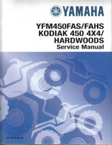 2005 - 2007 Yamaha Kodiak & Grizzly YFM450 ATV Factory Service Manual