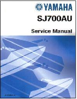 1997 - 2012 Yamaha SJ700B Superjet Factory Service Manual