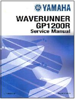2000 - 2002 Yamaha GP1200R WaveRunner Factory Service Manual