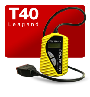 Leagend T40 Auto Diagnostic Code Reader with CAN, OBD-II, EOBD & JOBD Coverage
