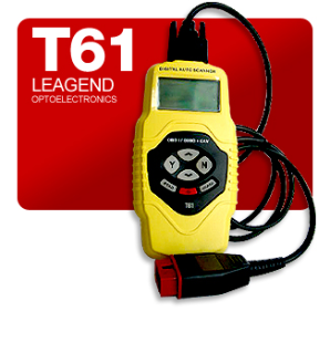 Leagend T61 Auto Diagnostic Scanner with CAN, OBD-II, EOBD & JOBD Coverage