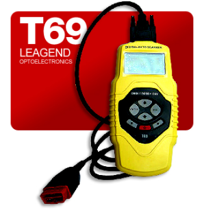 Leagend T69 Graphing Auto Diagnostic Scanner with CAN, OBD-II, EOBD & JOBD Coverage