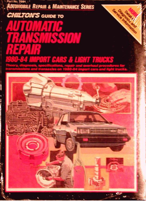 1980 - 1984 Chilton's Guide to Automatic Transmission Repair, Import Cars and Trucks