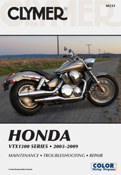 2003 - 2009 Honda VTX1300 Series Clymer Repair Manual