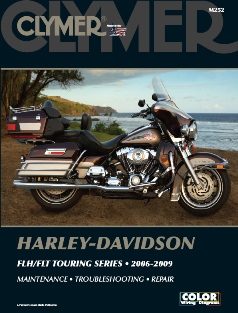 2006 - 2009 Harley Davidson FLH / FLT Touring Series Clymer Service, Repair & Maintenance Manual