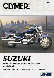 1998 - 2009 Suzuki 1500 Intruder / Boulevard C90 Clymer Repair Manual