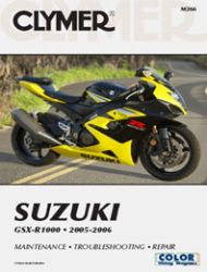 2005 - 2006 Suzuki GSX-R1000 Clymer Repair Manual