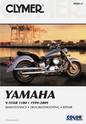 1999 - 2009 Yamaha V-Star XVS-1100 Clymer Repair Manual