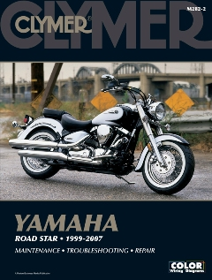 1999 - 2007 Yamaha Road Star Clymer Repair Manual