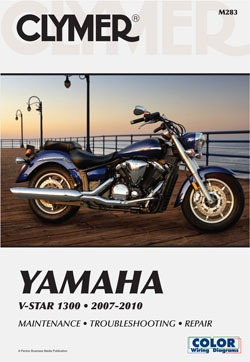 2007 - 2010 Yamaha V-Star 1300 Clymer Repair Manual