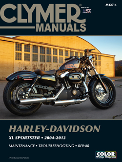 2004 - 2013 Harley-Davidson XL883 & XL1200 Sportster Clymer Repair Manual