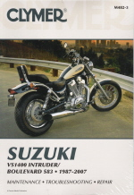1987 - 2007 Suzuki Intruder VS1400 Intruder, Boulevard S83 Clymer Repair Manual