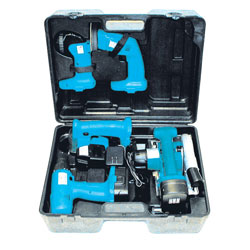 MotorCity 5-in-1 18 Volt Combo Tool Kit