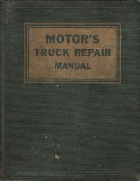 1946-1955 MOTOR's Truck Repair Manual 8th Edition