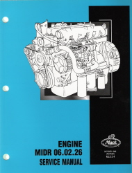 Mack Truck Engine Service Manual MIDR 06.02.26