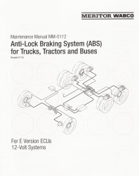 Anti-Lock Braking System (ABS) for Trucks, Tractors & Buses by Meritor Wabco