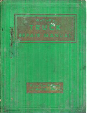 1936-1942 MOTOR's Truck Repair Manual 1st Edition