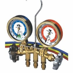 Mastercool R12 & R134a Auto & Commercial A/C Manifold Gauge Set