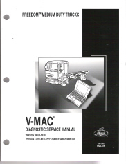 MACK V-MAC Diagnostic Service Manual MV8-102
