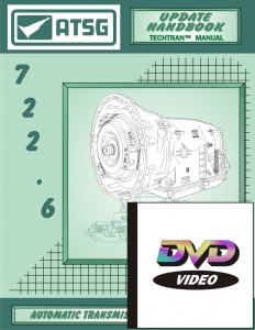 Mercedes Benz & Jaguar 722.6 Automatic Transmission Overhaul Combo Pack with DVD