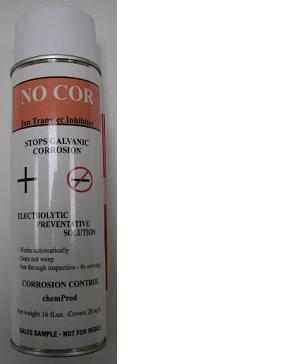 No-COR (No Corrosion, Oxidation or Rust) Spray-On Rust Inhibitor