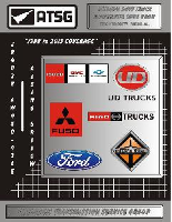 1988 - 2013 NPR GMC FUSO UD Ford International Truck Automatic Transmission Diagnostic Code Book