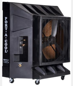 "Port-A-Cool Classic 36"" Variable Speed Evaporative Cooling Unit"
