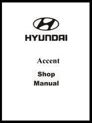 1996 Hyundai Accent Factory Shop Manual