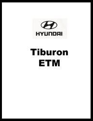 1998 Hyundai Tiburon Factory Electrical Troubleshooting Manual - ETM