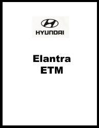 1999 Hyundai Elantra Factory Electrical Troubleshooting Manual - ETM