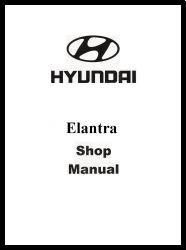 2000 Hyundai Elantra & Tiburon Factory Shop Manual