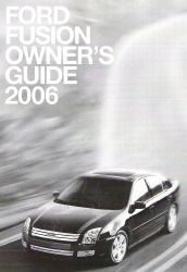 2006 Ford Fusion Owner's Guide