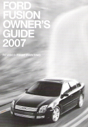 2007 Ford Fusion Owner's Guide