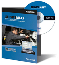 1994 & Up Navistar / International OEM SERVICEMAXX Fleet Pro Truck Engine Diagnostic PC Software