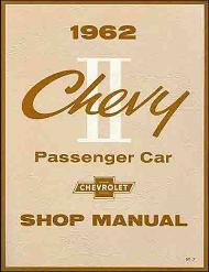 1962 Chevrolet Chevy II & Nova Factory Shop Manual