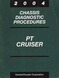 2004 Chrysler PT Cruiser Chassis Diagnostic Procedures