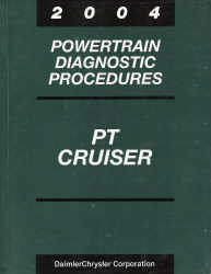 2004 Chrysler PT Cruiser Powertrain Diagnostic Procedures
