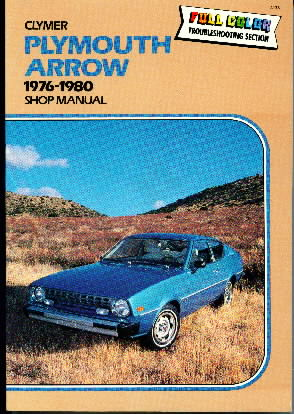 1976 - 1980 Plymouth Arrow Shop Manual
