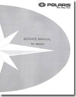 2009 Polaris Sportsman XP 500 Factory Service Manual