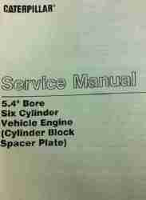 Caterpillar 631C and 633C Wheel Tractor Scrapers Factory Service Manual