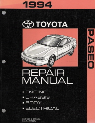 1994 Toyota Paseo Factory Service Manual