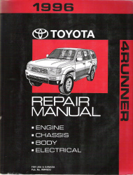 1996 Toyota 4Runner Factory Service Manual