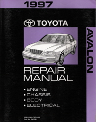 1997 Toyota Avalon Factory Service Manual