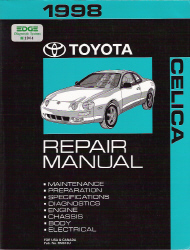 1998 Toyota Celica Factory Repair Manual