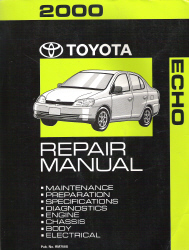 2000 Toyota Echo Factory Repair Manual