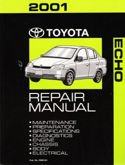 2001 Toyota Echo Factory Repair Manual