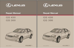 2003 Lexus GS430 / GS330 Repair Manual - 2 Volume Set